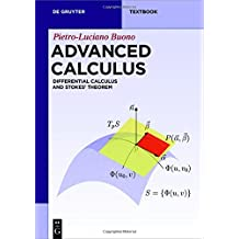 Advanced Calculus: Differential Calculus and Stokes' Theorem (De Gruyter Textbook)