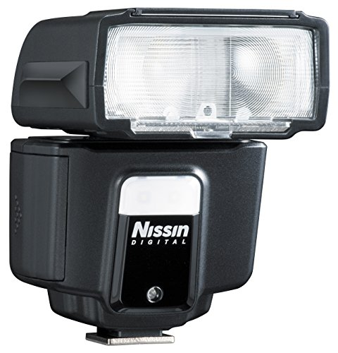 Nissin-Flash per i40 4/3/OLY pane, colore: nero