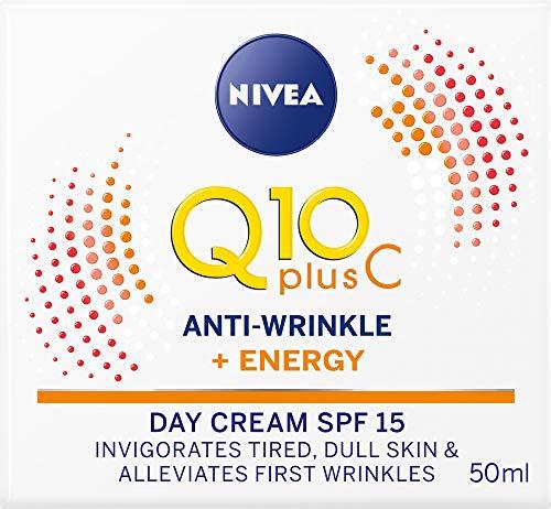 NIVEA Q10 Plus Anti-Wrinkle Energising Day Cream SPF 15 50ml
