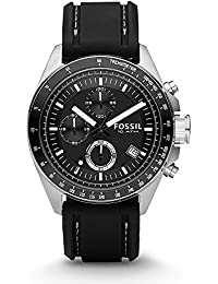 Fossil Decker Chronograph Black Dial Men's Watch - CH2573P