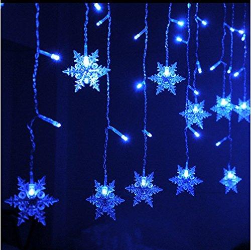 k-bright-35m-138in-96-led-blu-del-fiocco-di-neve-a-forma-di-leggiadramente-della-stringa-di-luci-di-