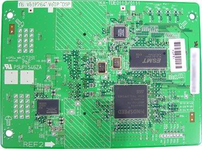 Panasonic KX-NCP1104X VoIP DSP4 inkl. Software Aktivation Keys für 4 Kanaele H.323/SIP Trunk und 8 IP-Systemendgeraete - 4 Voip-trunks