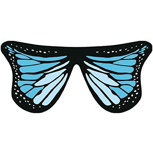 TIFIY Damen Schmetterling Schal, Schmetterlingsflügel Fee Halloween Nymphe Pixie Kostüm Tanzen Zubehör Party Cardigan Outwear 160 * 140cm