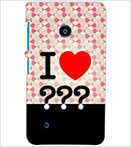 PrintDhaba Quote D-3852 Back Case Cover for NOKIA LUMIA 530 (Multi-Coloured)
