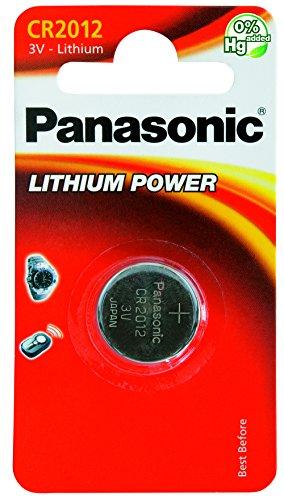 Panasonic CR-2012L/1BP Pile Bouton Lithium