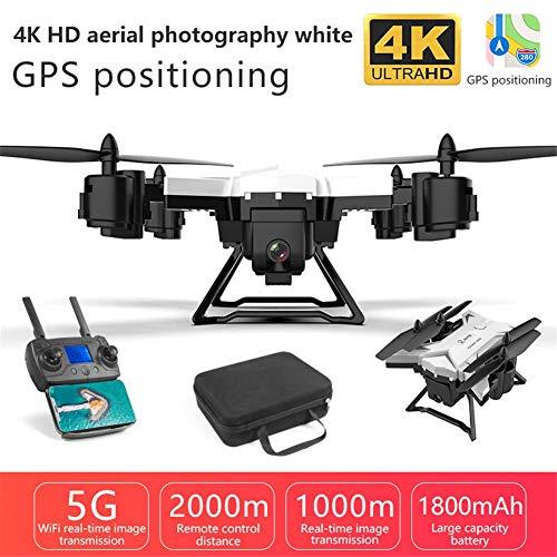 WanNing Drone HD 5G WiFi FPV Drone Volante Fotocamera in Tempo Reale GPS KY601G 4k Drone Pieghevole per Principianti e Professionisti con Lunga Distanza di Controllo