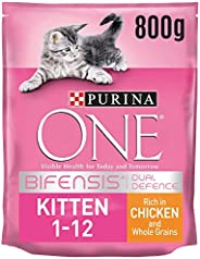 Purina One Kitten, Junior Chicken and Whole Grain, 800 gm