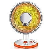 L&WB Oszillierende Heizlüfter, Elektrische Quiet Dish Heizung Energieeinsparung Raumheizung Infrarot-Heizung Mit Thermostat Für Zu Hause