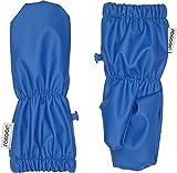 Racoon Baby-Jungen Fäustlinge Vitus rain (Wassersäule 5000), Blau (Princess Blue Pri), S (Herstellergröße: 00-02)