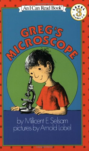 Greg'S Microscope (I Can Read, Book 3) por Millicent Ellis Selsam