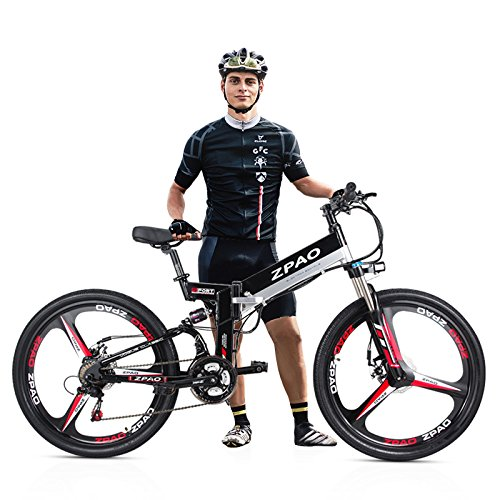 510d0JwZioL. SS500  - GTYW 26 Inch Electric Folding Bicycle Mountain Bike Adult Bike Electric Lithium Adult Folding Electric Mini Motorcycle 90km Battery Life