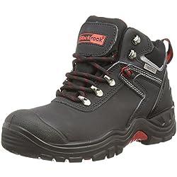 Blackrock SF56 , zapatos de seguridad de cuero unisex, negro, 46 EU (11 UK)