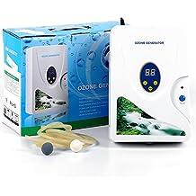 Generador de ozono de agua, 600 mg/h dispositivo de ozono Air Purifier generador