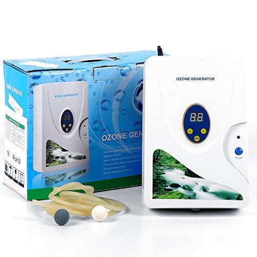Ozon Generator wasser,600mg/h ozongerät Air Purifier Ozongenerator Gemüse-Sterilisator Ozon-Wasser Ozon Entgiftung Maschinen - Ozon-luftreiniger Nicht
