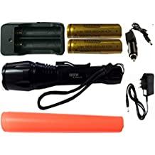 Special] batteria T6 torcia LED CREE 100,000 Lumen 5000 W Torchlight + caricatore