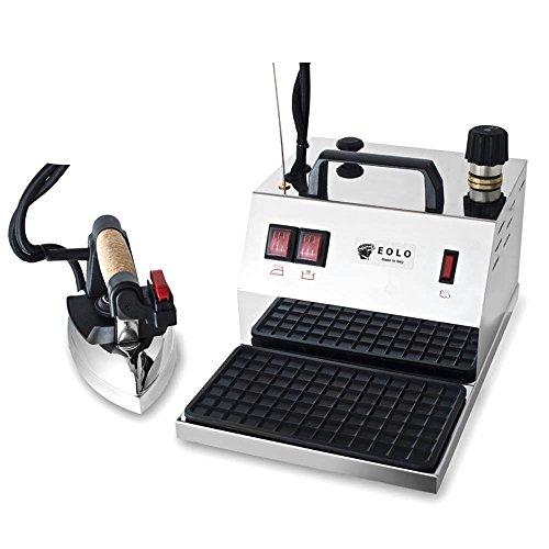 EOLO GV04 Professionelle Dampfbügelstation mit 3 Bar Tockendampf und 2 Liter Behälter
