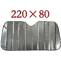Inovey Sombrilla De Aluminio De Alta Calidad De La Hoja De Estaño para Los Coches 220Cm * 80 Cm Grandes para Los Camiones Grandes