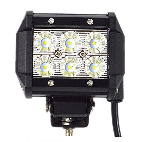Lampe LED 18W CREE LED Chips Bar Composite faisceaux avec des lumières pour Off-Road Tuck remorque voiture Bateau Moteur 4 X 4 Road Driving phare 12V