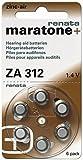 60 Stück Renata ZA 312 Hörgerätebatterie - 180 mAh 1,4 V