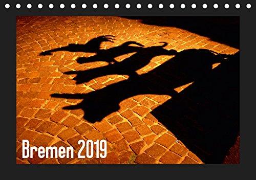 Bremen 2019 (Tischkalender 2019 DIN A5 quer): Hansestadt Bremen - die Stadt am Fluss bei Tag und Nacht (Monatskalender, 14 Seiten ) (CALVENDO Orte)