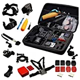 Navitech Pacchetto accessori 30 nel 1 compatibile con Nilox MINI Action Cam Action Camera
