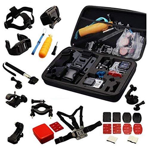 Navitech Pacchetto accessori 30 nel 1 compatibile con YI Discovery Action Camera