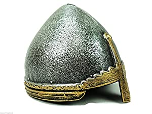 Viking or Knight Helmet for Kids. Norman Nasal Helmet. Costume Accessory