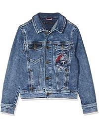Tommy Hilfiger Boys Denim Jacket Easmbst, Chaqueta para Niños