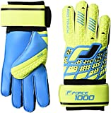 Pro Touch Kinder Force 1000 FS Jr. Torwart-Handschuhe, Gelb/Blau, 7