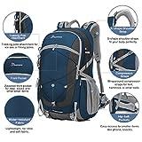 Mountaintop Unisex Rucksack 40L, 55 x 35 x 25 cm -