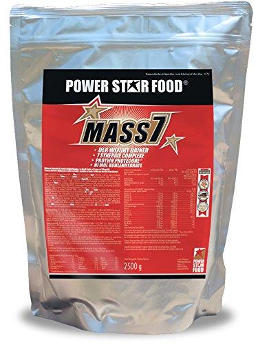 WEIGHT GAINER für SOFTGAINER & MASSEPHASE - 7-stufiges Masseaufbausystem - Kalorienshake für Magermasse, Kraft & schnelleren Muskelaufbau - Zip-Beutel Proteinpulver - MADE IN GERMANY (Vanille, 1610 g Beutel)