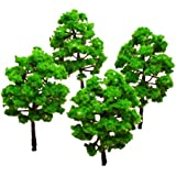 Generic Model Tree Train Set Plastic Trunks Scenery Landscape HO N - 10PCS