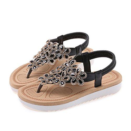 Orteil de ladies fashion sandales peu mis les pieds/chaussures de loisirs coréen Joker/Chaussures étudiant B