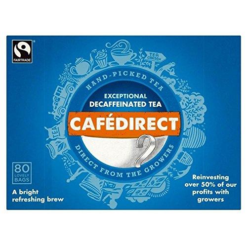 Cafédirect Fairtrade Entkoffeiniert Handverlesene Tee (80)