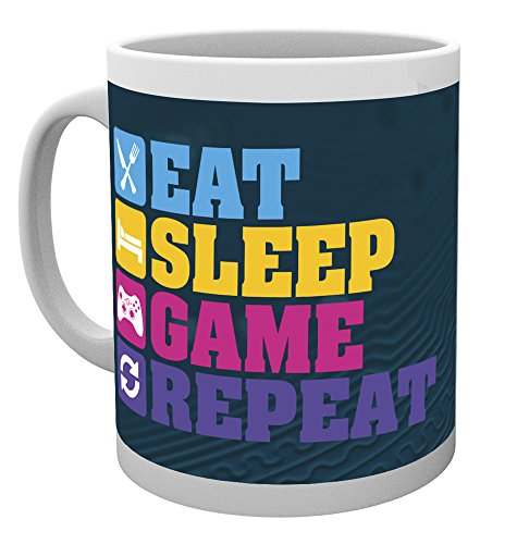 GB Eye LTD, Gaming, Eat Sleep, Taza