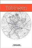 Poster 61 x 91 cm: Tübingen Karte Kreis von Campus
