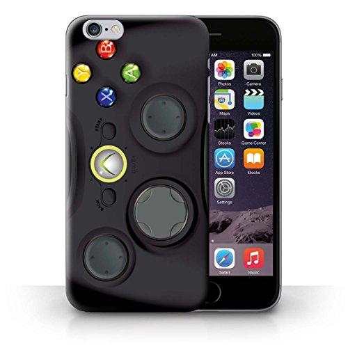 Kobalt Super Nintendo stampato Custodia Cover per iPhone 6+/Plus 5.5 cellulari telefoni / Collezione Giochi Console Collezione Xbox 360 nera