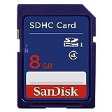#4: SanDisk 8GB Class 4 SDHC Memory Card (SDSDB-008G-B35)