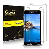 [2 Stück] Schutzfolie für Samsung A5 2017, Bodyguard Panzerglas Displayschutzfolie 9H Hartglas für Samsung Galaxy A5 2017 5.2 Zoll (Transparente), Anti-Kratzen, Anti-Öl, Anti-Bläschen