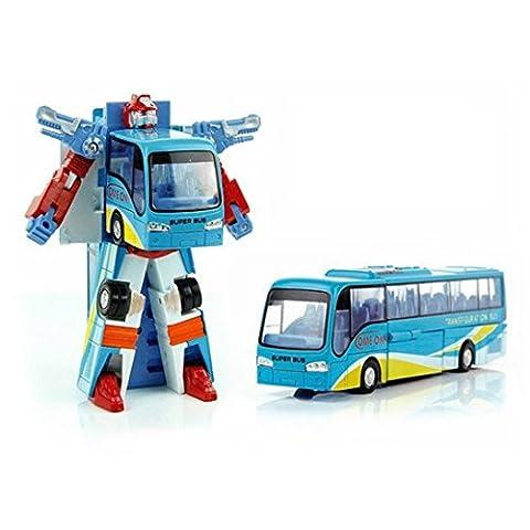 Véhicule Miniature pour Enfant - Véhicule Transformable - Bus scolaire