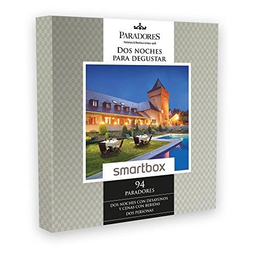 SMARTBOX – Caja Regalo – DOS NOCHES PARA DEGUSTAR – 94 Paradores excepcionales y únicos en España como castillos, palacios o conventos.