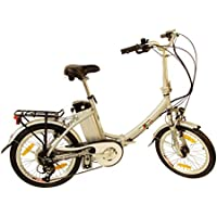 xGerman Faltrad Eturbo Comfort, Silber, 20 Zoll, 4260296281279