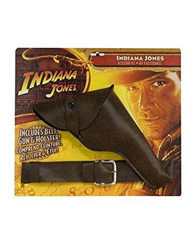 Indiana Jones Pistole, Halfter und (Indiana Peitsche Kostüm Jones)