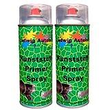 2 x 400 ml Kunststoffprimer Spray Haftvermittler für Kunstoffe am Auto
