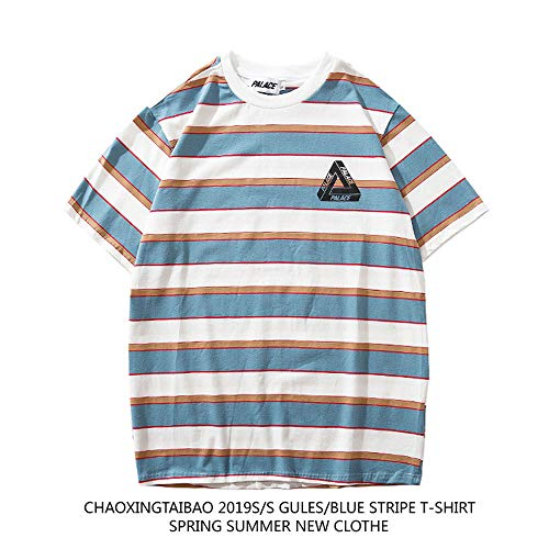 QYS Palace Tshirt Hombre | Palace Striped Color Sleeves