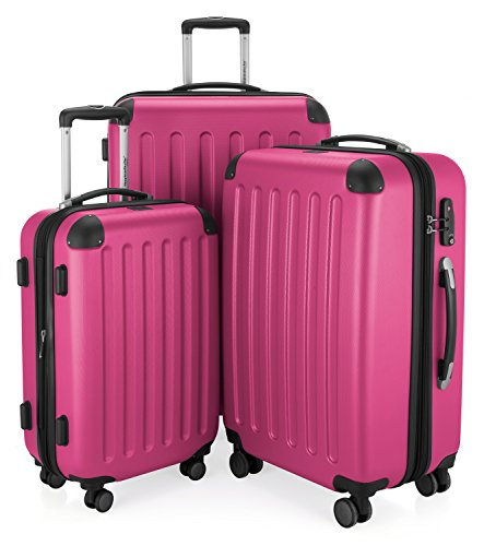 HAUPTSTADTKOFFER - Spree - Set de 3 Valises rigides Bagage Trolley 4 roues