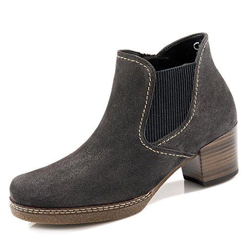 Gabor Lilia Womens Chelsea-Stiefel 3.5 UK/36 EU Dark Grey Suede (Suede Stiefel Casual)