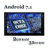 [2017NEW] EinCar 2DIN Android 7.1 stereo di navigazione per auto con Bluetooth Octa CPU Core 2G / 32G Car Entertainment Multimedia Radio, Wi-Fi, schermo da 7 pollici Touch HD
