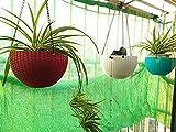 KOKR Sonnensegel, Sonnenschutz Garten Balkon und Terrasse Wetterschutz Wasserabweisend Imprägniert Rechteck Quadratisch Sonnensegel,4 * 10M