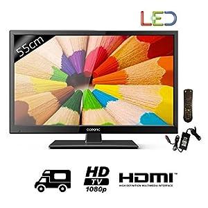OCEANIC TV CC215B2 - Full HD 1080p - 55cm (21,5' pouces) LED - 12-24V et 220V - 1 HDMI - Classe B